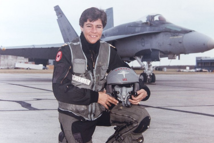 "Deanna ""Dee"" Brasseur Canadian Women in Aviation"