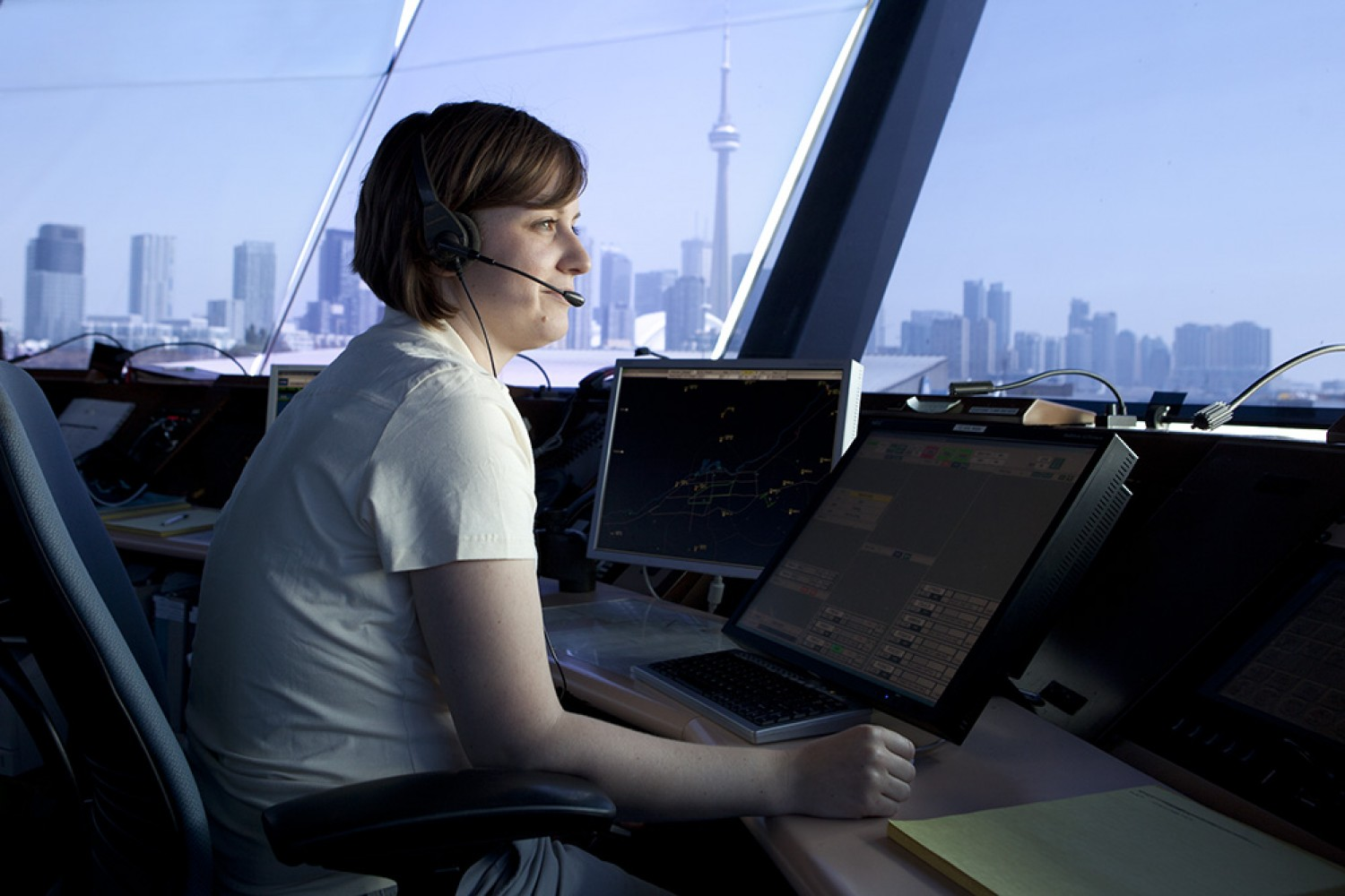 Woman Air Traffic Controller Canadian Women in Aviation